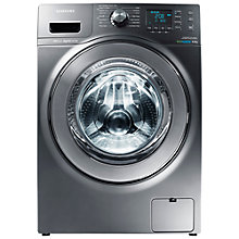 Buy Samsung WF80F7E6U6X ecobubble™ VRT Freestanding Washing Machine, 8kg Load, A+++ Energy Rating, 1600rpm Spin, Graphite Online at johnlewis.com