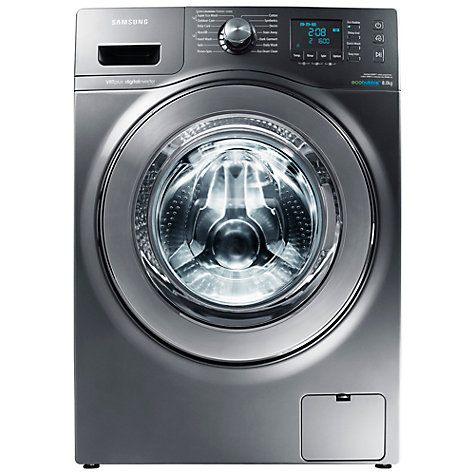 Buy Samsung WF80F7E6U6X ecobubble™ VRT Washing Machine, 8kg Load, A+++ Energy Rating, 1600rpm Spin, Graphite Online at johnlewis.com