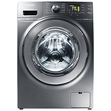 Buy Samsung WD906U4SAGD Washer Dryer, 9kg wash / 6kg dry load, 1400rpm Spin, Inox Online at johnlewis.com