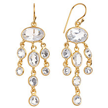 Buy Pomegranate 18ct Gold Vermeil Jellyfish Drop Earrings Online at johnlewis.com