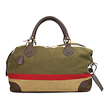 Buy Barbour Stripe Wool Explorer Bag Online at johnlewis.com