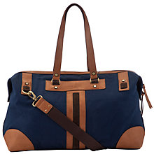Buy Ted Baker Dr Leg Canvas Holdall Online at johnlewis.com