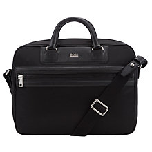 Buy Hugo Boss Memins Nylon and Leather Messenger Bag Online at johnlewis.com