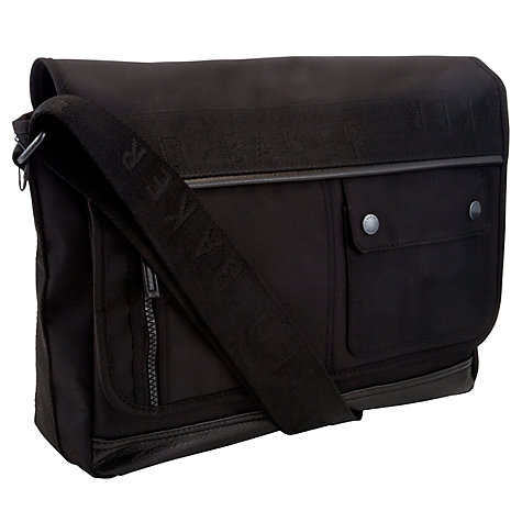 Buy Ted Baker Belvin Messenger Bag Online at johnlewis.com