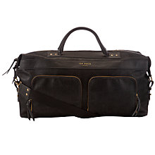Buy Ted Baker Lamond Double Zip Pocket Holdall Online at johnlewis.com