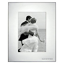 "Buy kate spade new york Darling Point Toast of The Town Photo Frame, 5 x 7"" (13 x 18cm), Silver Online at johnlewis.com"