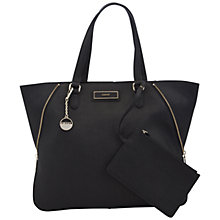 Buy DKNY Saffiano Leather Large Zip Tote Handbag Online at johnlewis.com