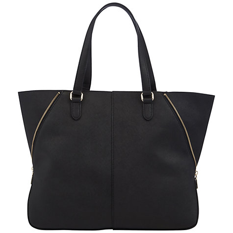 Buy DKNY Saffiano Large Zip Tote Handbag Online at johnlewis.com