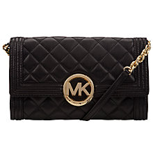 Buy MICHAEL Michael Kors Fulton Bombe Clutch Bag Online at johnlewis.com