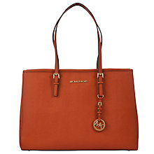 Buy MICHAEL Michael Kors Jet Set Large East/West Tote Bag Online at johnlewis.com