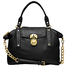 Buy MICHAEL Michael Kors Hamilton 18K Slouchy Satchel Bag Online at johnlewis.com