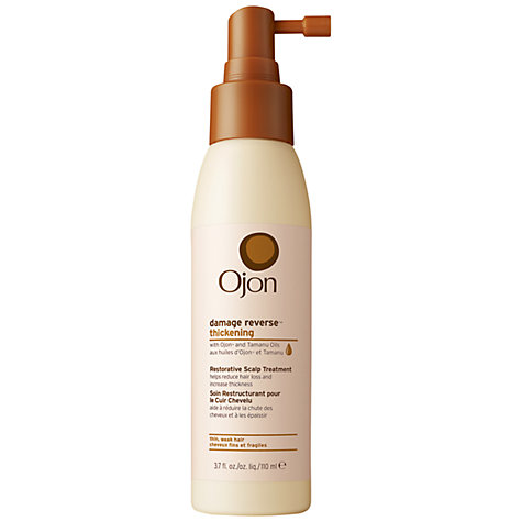 Buy Ojon® Damage Reverse Thickening Restorative Scalp Treatment, 110ml Online at johnlewis.com