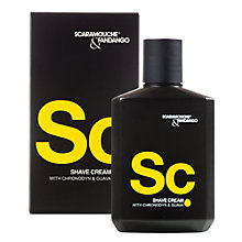 Buy Scaramouche & Fandango Shaving Cream with Chronodyn and Guava, 100ml Online at johnlewis.com