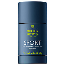 Buy Molton Brown Sport Anti-Perspirant Stick, 75g Online at johnlewis.com