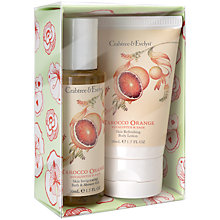 Buy Crabtree & Evelyn Tarocco Orange, Eucalyptus & Sage Mini Gift Set, 2 x 50g Online at johnlewis.com