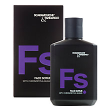Buy Scaramouche & Fandango Face Scrub with Chronodyn, 100ml Online at johnlewis.com
