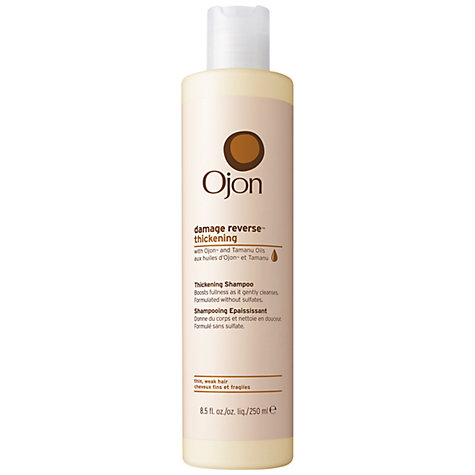 Buy Ojon® Damage Reverse Thickening Shampoo, 250ml Online at johnlewis.com