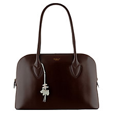 Buy Radley Aldgate Large Zipped Leather Tote Bag Online at johnlewis.com