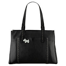 Buy Radley Barnsley Large Zipped Leather Work Bag Online at johnlewis.com