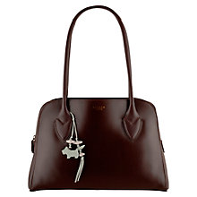 Buy Radley Aldgate Medium Leather Tote Bag, Burgundy Online at johnlewis.com