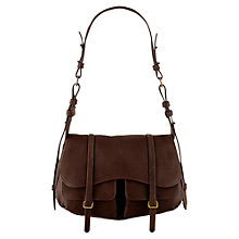 Buy Radley Grosvenor Medium Leather Flap Shoulder Handbag Online at johnlewis.com