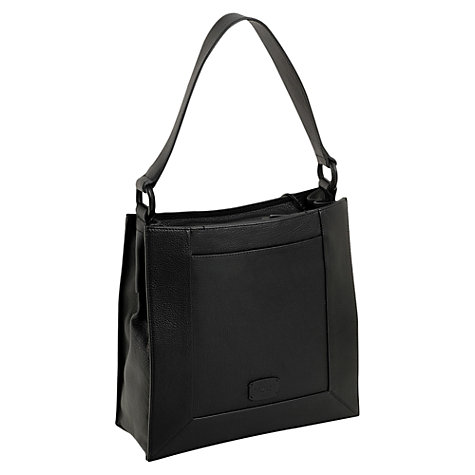 Buy Radley Border Medium Leather Shoulder Bag Online at johnlewis.com