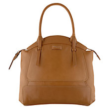 Buy Radley Clayton Leather Large Zipped Grab Handbag Online at johnlewis.com