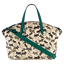 Buy Radley Doodle Dog Small Grab Handbag, Elderflower Online at johnlewis.com
