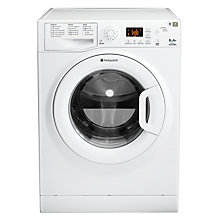 Buy Hotpoint Futura WMFG631P Washing Machine, 6kg Load, A+ Energy Rating, 1300rpm Spin, White Online at johnlewis.com