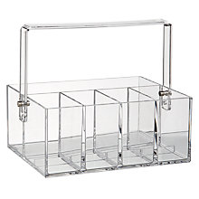Buy nomess COPENHAGEN Makeup Tool Box, Clear Online at johnlewis.com