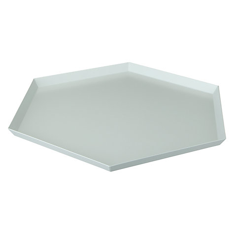 Buy HAY Kaleido Tray, Extra Large, Grey Online at johnlewis.com
