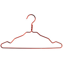 Buy Nomess Copenhagen Notched Aluminium Hangers, Pack of 5 Online at johnlewis.com