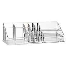 Buy nomess COPENHAGEN Make Up Organiser, Clear Online at johnlewis.com