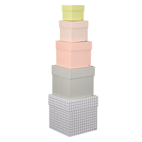 Buy Hay Storage Boxes, Set of 5 Online at johnlewis.com