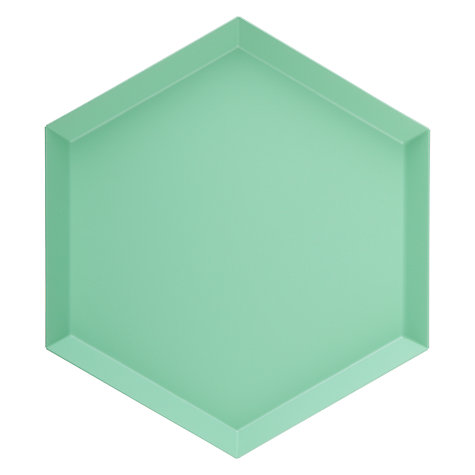 Buy HAY Kaleido Tray, Small, Mint Online at johnlewis.com