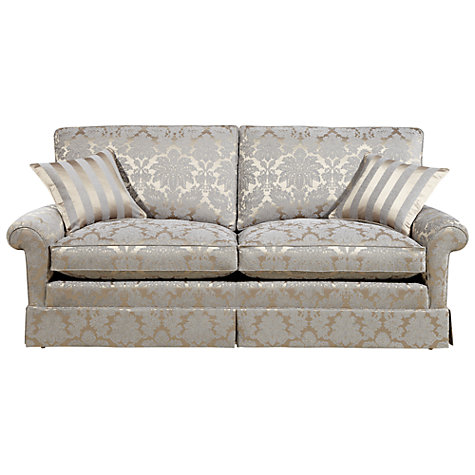 Buy Duresta Woburn Large Sofa, Oscar Silver Online at johnlewis.com