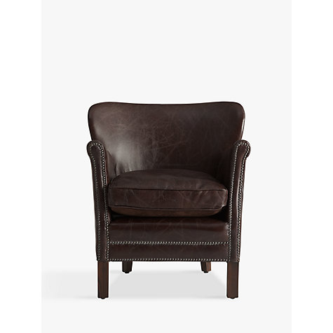 Buy Halo Little Professor Leather Armchair Online at johnlewis.com