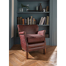 Buy John Lewis Little Professor Leather Armchair Online at johnlewis.com