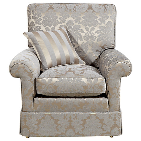 Buy Duresta Woburn Gents Chair, Oscar Silver Online at johnlewis.com