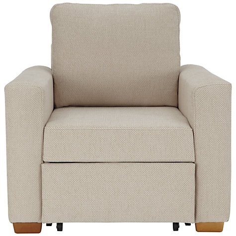 Buy John Lewis Sacha Storage Armchair, Evora Putty Online at johnlewis.com