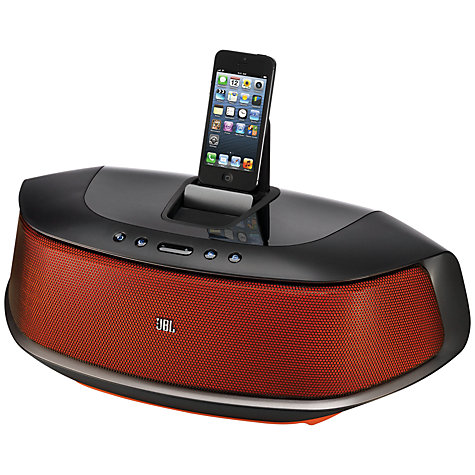 Buy JBL OnBeat Rumble Bluetooth Dock with Apple Lightning, Black Online at johnlewis.com