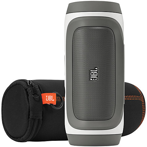 Buy JBL Charge Bluetooth Wireless Speaker, Black & White Online at johnlewis.com