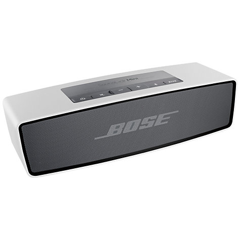 Buy Bose® SoundLink® Mini wireless mobile speaker, Silver Online at johnlewis.com