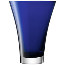 Buy LSA Flower Colour Vase, H30cm, Cobalt Online at johnlewis.com
