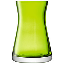 Buy LSA International Flower Colour Vase, H20cm, Lime Online at johnlewis.com