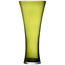Buy LSA Flower Colour Trumpet Vase, H 38cm, Olive Online at johnlewis.com