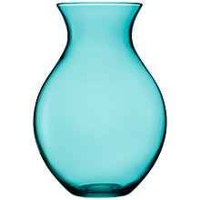 Buy LSA Flower Colour Vase, H30cm, Peacock Online at johnlewis.com