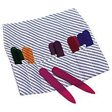 Buy Thomas Pink Colourful Collar Bones Pouch Online at johnlewis.com