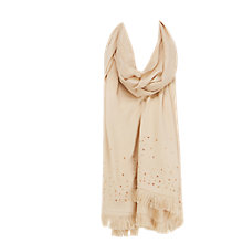 Buy Coast Hedda Wrap Scarf, Neutral Online at johnlewis.com