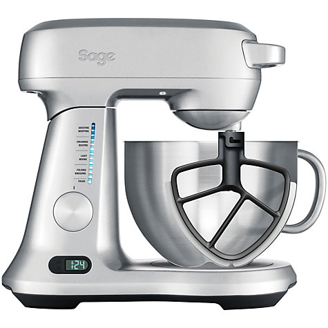 Buy Sage by Heston Blumenthal the Scrape Mixer Pro™ Stand Mixer, Silver Online at johnlewis.com